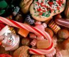 Diverse snoepjes of snoep - Snoepgoed, snoep stokken