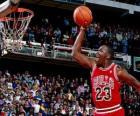 Michael Jordan doet een stuurman