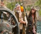 Piraat aan het roer