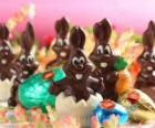 Chocolade bunnies