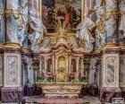 Altaar van de kerk