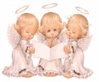 Drie engelen zingen