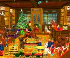 Giften en speelgoed winkel voor Kerstmis