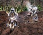 Motocross veel modder