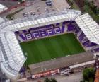 Stadion van Birmingham City FC - St Andrews Stadium -
