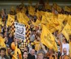 Vlag van Wolverhampton Wanderers FC