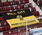 Vlag van Hull City AFC