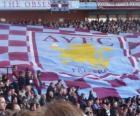 Vlag van de Aston Villa FC