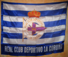 Deportivo de La Coruña vlag