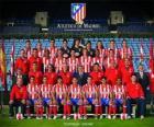 Team van Atletico de Madrid 2008-09