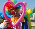 Clown en ballon