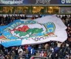 Vlag van Blackburn Rovers FC