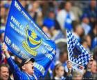 Vlag van Portsmouth FC