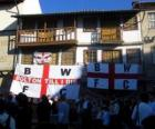 Vlag van Bolton Wanderers FC