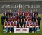 Team van Aston Villa FC 2009-10