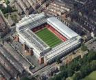 Stadion van Liverpool FC - Anfield -