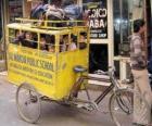 Schoolbus in India