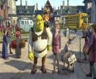 Shrek met Arthur mogelijke opvolger van de troon