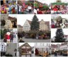 Verschillende beelden van Kerstmis