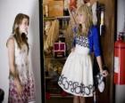 Hannah Montana (Miley Cyrus) met zijn vriendin Lily