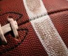 Detail Amerikaans voetbal bal