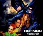 Verschillende karakters van Batman