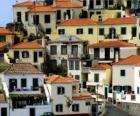 Typische huizen van het dorp van Câmara de Lobos - Madeira - (Portugal)