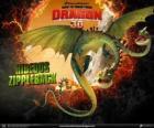 Razende Ritzerug, met twee hoofden, is de grootste draak en een van de meest gevaarlijke