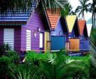 Huizen kleuren, Bahama's