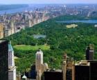 Luchtfoto van Central Park, New York