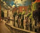 Historisch centrum van Brugge, België