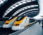 Eurostar hogesnelheidstrein