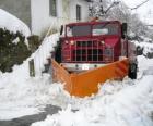 Snowplow doen hun werk