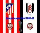 Europa League 2009-10 Atletico Madrid tegen Fulham FC