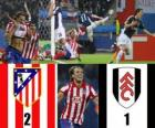 Europa League 2009-10 Atletico Madrid 2 - 1 FC Fulham
