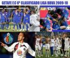 FC Getafe zesde Ingedeeld League BBVA 2009-2010