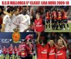 RCD Mallorca vijfde Ingedeeld League BBVA 2009-2010