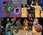 NBA Finals 2009-10, Game 1, Boston Celtics 89 - Los Angeles Lakers 102