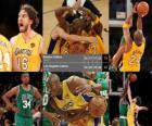 NBA Finals 2009-10, Game 7, Boston Celtics 79 - Los Angeles Lakers 83