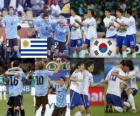 Uruguay - Zuid-Korea, achtste finales, Zuid-Afrika 2010