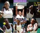 Selena Williams Wimbledon Champion 2010
