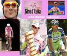 Ivan Basso, winnaar van de Giro Italië 2010