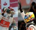 Lewis Hamilton - McLaren - Silverstone 2010 (2e plaats)