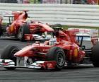 Fernando Alonso, Felipe Massa, Hockenheim, de Duitse Grand Prix (2010)