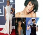 Collage van Rihanna