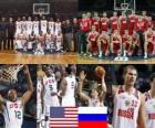 Verenigde Staten - Rusland, kwartfinale, 2010 FIBA World Turkije