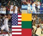 Verenigde Staten - Litouwen, halve finales, 2010 FIBA World Turkije