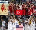 Turkije vs Verenigde Staten, Final, 2010 FIBA World Championship in Turkije