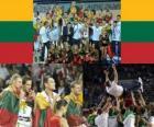 Litouwen, 3e plaats van de 2010 FIBA World, Turkije