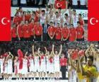 Turkije, 2e plaats van de 2010 FIBA World, Turkije